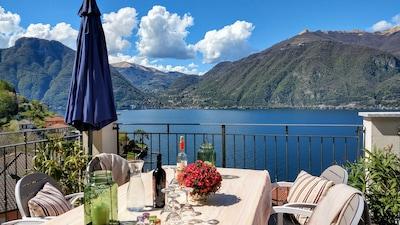 Premium spot for unforgettable views on romantic Lake Como