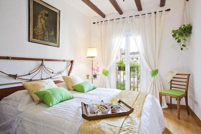 dormitorio,colchon super comfortable,cama medida 1,60m