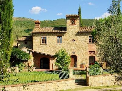 Bosco di Sargiano, Arezzo, Toscane, Italië