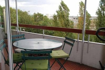 Terrasse / vue sur Lyon