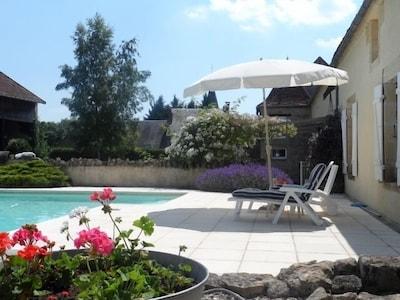 Chateauneuf-Val-de-Bargis, Nièvre, Frankreich
