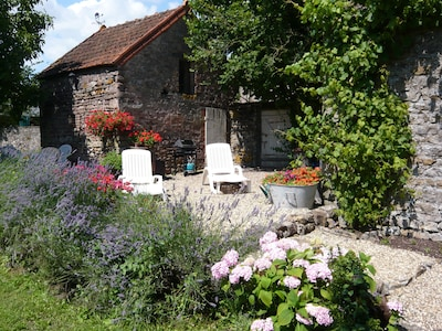 Saint-Julien-sur-Dheune, Saône-et-Loire Département, Frankreich