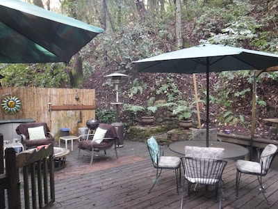 Redwood Mountain Hideaway in Felton Near Lake + Santa Cruz