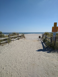entrance of St. James beach