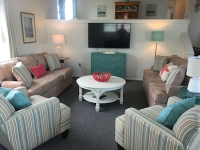 Newly redecorated Living Room