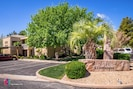 Entrance to clubhouse at Blackrock condos, St. George Utah