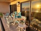 New patio  furniture Seabreeze 1 #404 vrbo.com/60785 4300 Gulf  Blvd Spi TX78597
