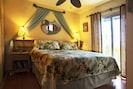 King-size double pillow-top memory foam mattress is steps from gardenia lanai!