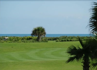 Patio View- 8th hole of Championship Golf  Course and Ocean