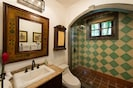 Casita Andalucia bathroom with shower.