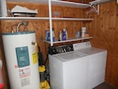 Utility / Entrance room with Washer and Dryer.