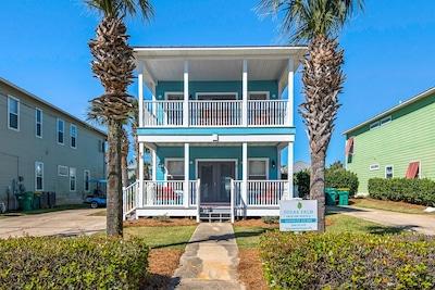 Seahouse Escape - A terrific beach house in Crystal Beach, Destin, Florida.