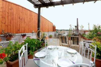 Rome Colosseum Roof Terrace apartment