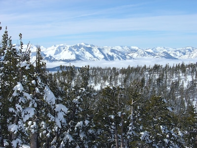 A look to the west from Heavenly Mountain