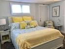 Beautiful, roomy queen bedroom located downstairs