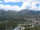 Summer view from Mt Baldy looking at Peak 7 & 8