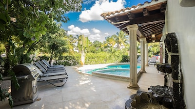 Private Pool, BBQ all right off the main floor family and dining room