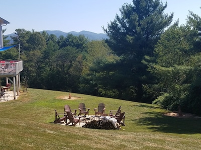 Fire pit with breathtaking views. 7-2020