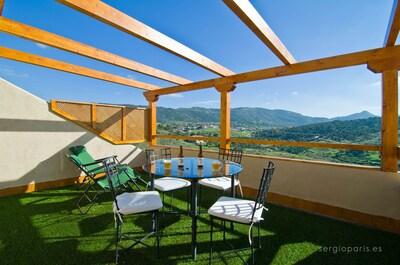 Robledo De Chavela: Apartamento con terraza mirador y jacuzzi