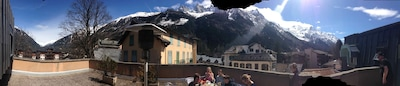 Panoramic from the terrace