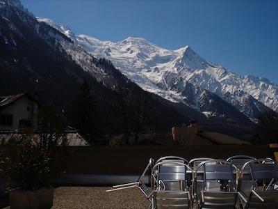 View over to Switzerland