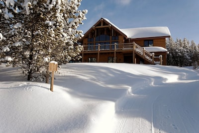 Casa Big Sky in winter