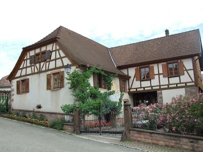 Triembach-au-Val, Bas-Rhin, France