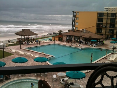 Largest pool on the beach!