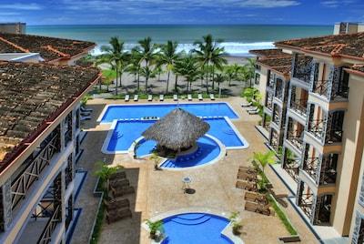 Beautiful Bahia Encantada is true Beachfront
