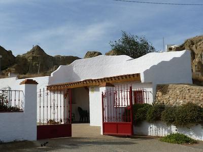 Guadix Caves, Guadix, Andalusia, Spain
