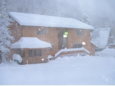 Enjoy a magical winter getaway at Ski Town Condos in Monarch Colorado!