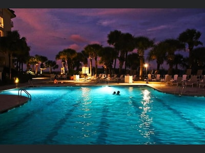 Nothing like swimming at night in the Summer Time.