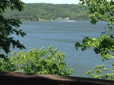 Summer deck  view overlooking Lake Cumberland