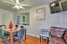 Dining/common area. Note: printer & telephone is moved into master suite