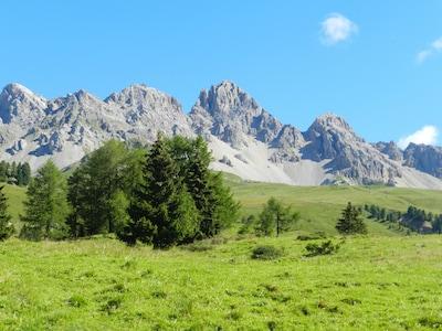 Appartamento nelle Dolomiti, magnifiche escursioni