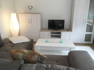Appartement auf 2 Etagen bei Kassel für bis zu 6 Personen