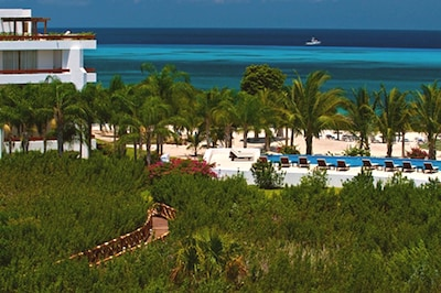 Fabulous View From Sundeck Looking Over Main Pool & Beach
