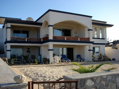 Private beach area for outdoor living in Baja
