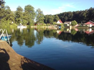 Lychen, Brandenburg Region, Deutschland