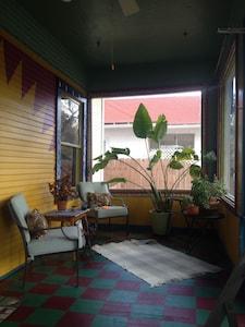 fun front sun porch