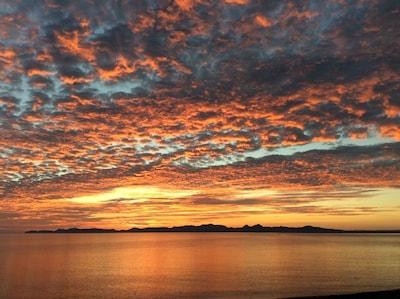 Start each day with a beachside sunrise.