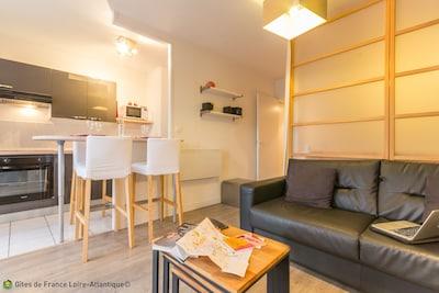 espace cuisine/repas/salon