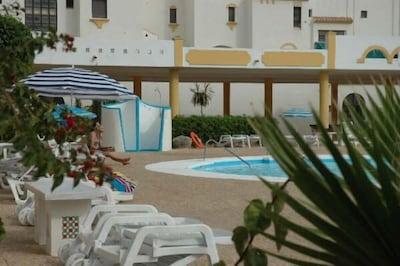 Apartamento vacaciones playa 60m 2 piscinas wifi