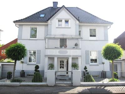 Alte Stadtvilla von 1924 zentral in Bad Pyrmont
