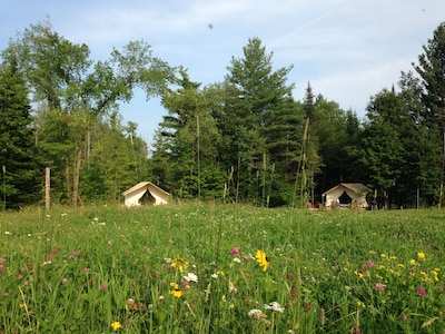 Glamp Thomas On Adk Farm Offers Privacy, Stargazing And Mountain Views