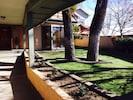 Front courtyard, upper level