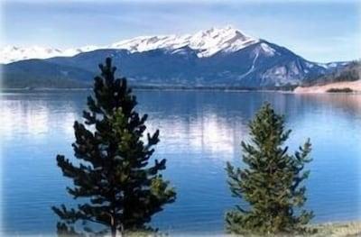 Beautiful Lake Dillon from condo complex