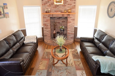 Main floor living room - one of three large living areas in the home