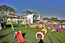 Playground strategically located for easy watching from the rest of the property
