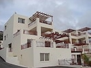 Frontal view of our apartment on 2nd level with half open & half covered balcony